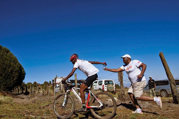 Biking For A Cause: The  Mount Kenya 10to4 Mountain Bike Challenge